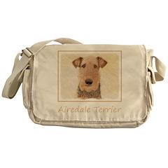 Airedale Terrier Messenger Bag