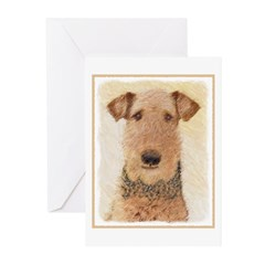 Airedale Terrier Greeting Cards (Pk of 20)