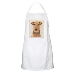 Airedale Terrier Light Apron