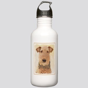 Airedale Terrier Stainless Water Bottle 1.0L