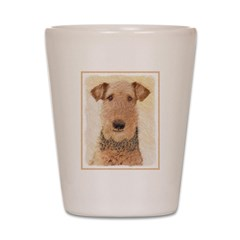 Airedale Terrier Shot Glass