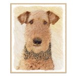 Airedale Terrier Small Poster