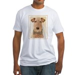 Airedale Terrier Fitted T-Shirt