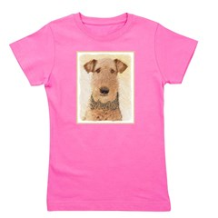 Airedale Terrier Girl's Tee