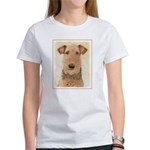 Airedale Terrier Women's Classic White T-Shirt