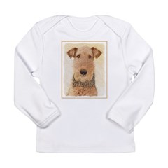 Airedale Terrier Long Sleeve Infant T-Shirt