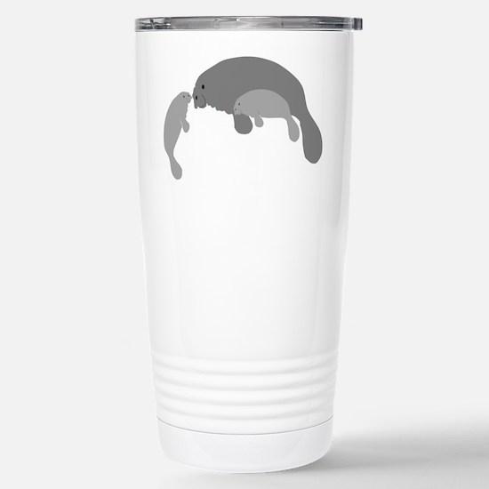 Mother Manatee Travel Mug