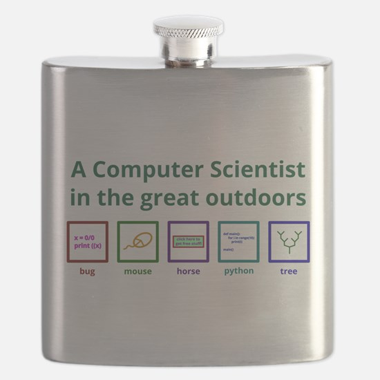 A computer scientist in the great outdoors Flask
