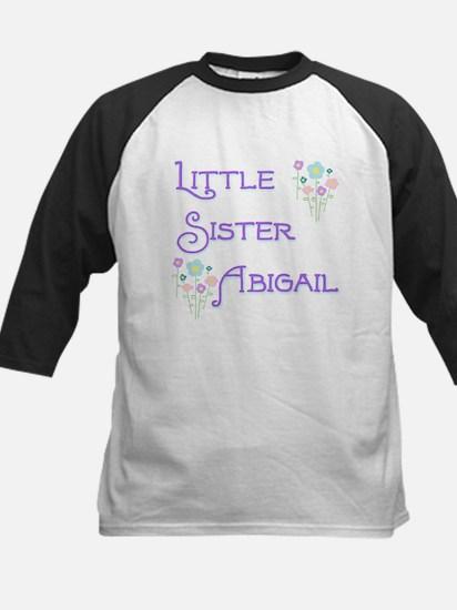 Little Sister Abigail Kids Baseball Jersey