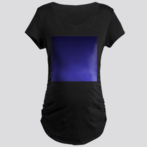 royal blue ombre Maternity T-Shirt