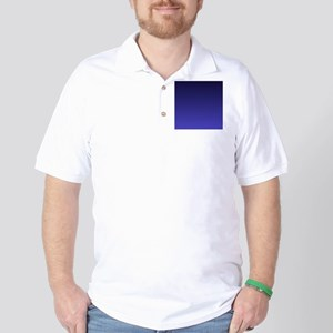 royal blue ombre Golf Shirt