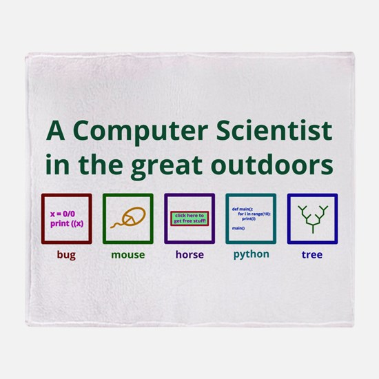 A Computer Scientist In The Great Throw Blanket