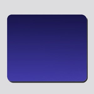 royal blue ombre Mousepad
