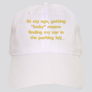 """At my age, getting """"Lucky"""" me Cap"""