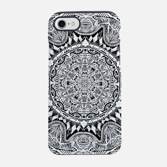 Mandala Pattern iPhone 7 Tough Case