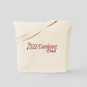 uss eisenhower dad Tote Bag