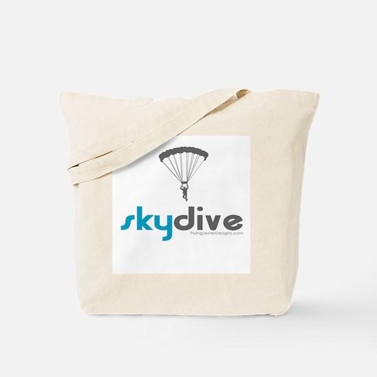 Blue Skydive Tote Bag