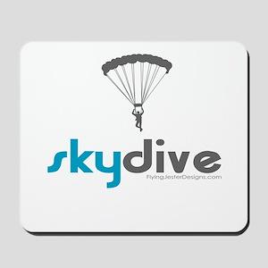 Blue Skydive Mousepad