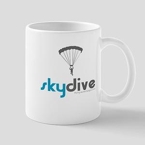 Blue Skydive Mug