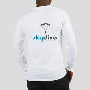 Blue Skydive Long Sleeve T-Shirt