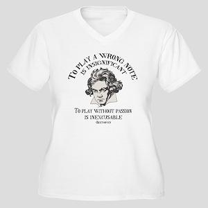 Insignificant v. Women's Plus Size V-Neck T-Shirt