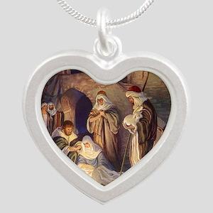 Vintage Christmas Nativity Necklaces