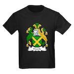 Frank Family Crest Kids Dark T-Shirt