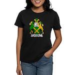Frank Family Crest Women's Dark T-Shirt