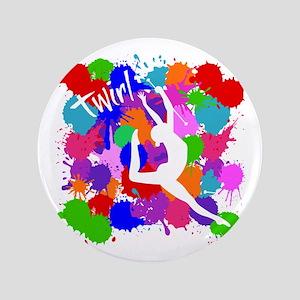 SPLATTER TWIRL Button