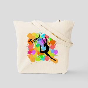 Splatter Twirl Both Sides Tote Bag