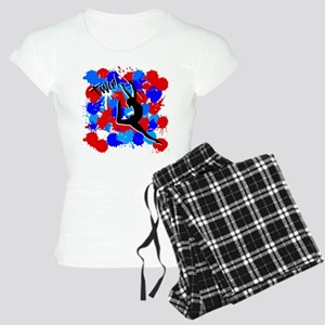 SPLATTER TWIRL Women's Light Pajamas