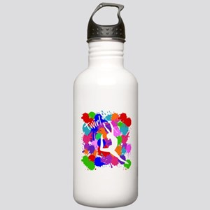 SPLATTER TWIRL Stainless Water Bottle 1.0L