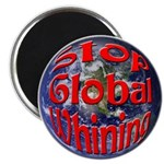 """Stop Global Whining 2.25"""" Magnet (100 pack)"""