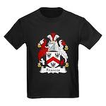 Frances Family Crest Kids Dark T-Shirt