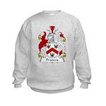 Frances Family Crest Kids Sweatshirt