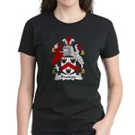 Frances Family Crest Women's Dark T-Shirt