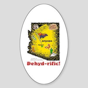 AZ-Dehyd-rific! Oval Sticker