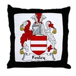 Foxley Family Crest Throw Pillow