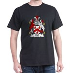 Fox Family Crest Dark T-Shirt