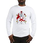 Fox Family Crest Long Sleeve T-Shirt