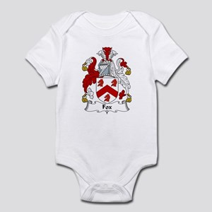 Fox Family Crest Infant Bodysuit