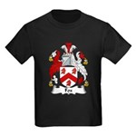 Fox Family Crest Kids Dark T-Shirt