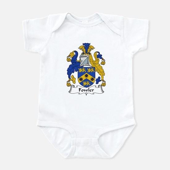Fowler Family Crest Infant Bodysuit