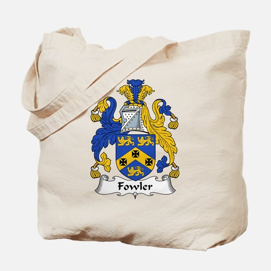 Fowler Family Crest Tote Bag