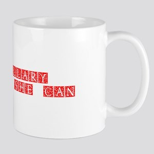 Hillary 2016 Yes she can-Ana red 500 Mugs