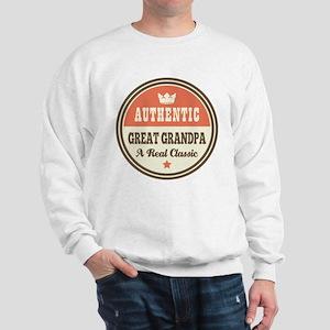 Classic Great Grandpa Sweatshirt