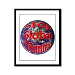 Stop Global Whining Framed Panel Print