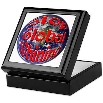 Stop Global Whining Keepsake Box