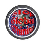 Stop Global Whining Wall Clock