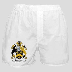 Fordham Family Crest  Boxer Shorts